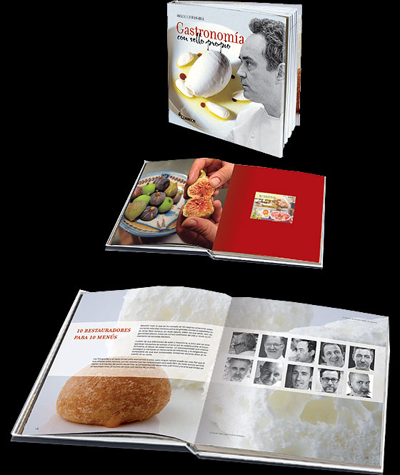 Thematic Book - Gastronomy with Stamp Books