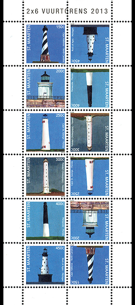 Lighthouses 2013 Sheetlets