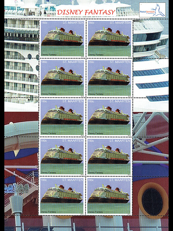 Cruise Ship - Disney Fantasy Sheetlets