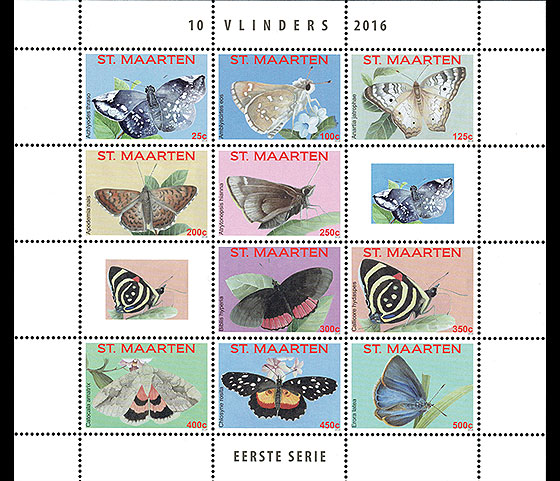 Butterfly 2016 (Sheet) Sheetlets