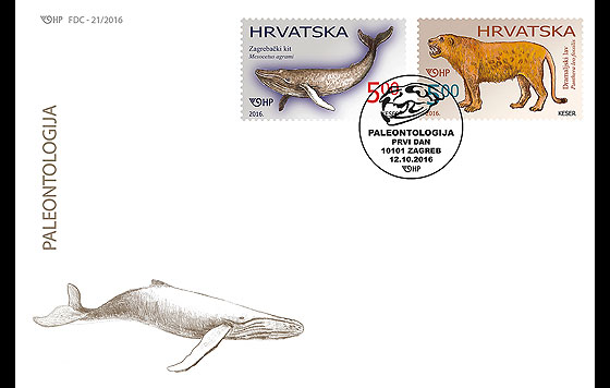 Paleontology First Day Cover