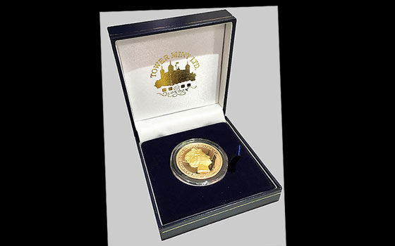 22CT Gold Coin - Queen's 90th Birthday