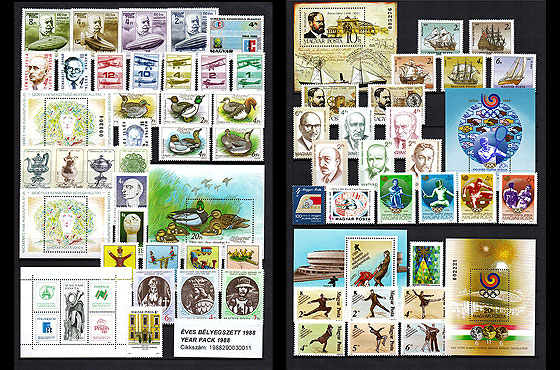 Year Set 1988 Annual Product