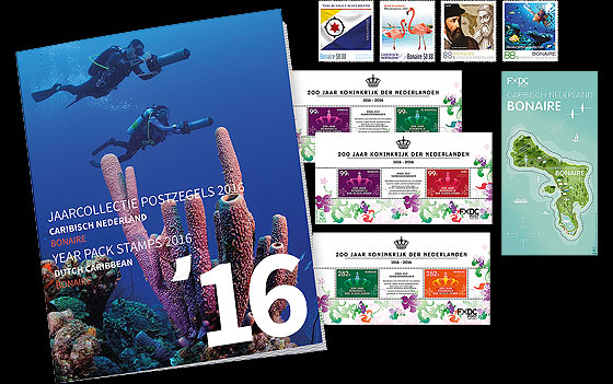 Bonaire Year Pack 2016 Year Collections