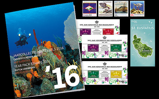 St. Eustatius Year Pack 2016 Year Collections