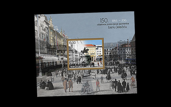 150th Anniversary of erecting the ban Jelačić statue