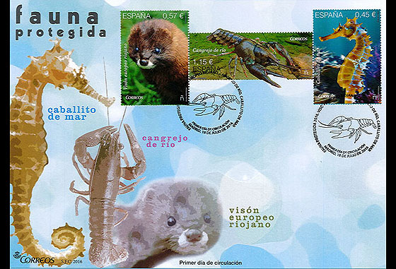 Protected Fauna First Day Cover