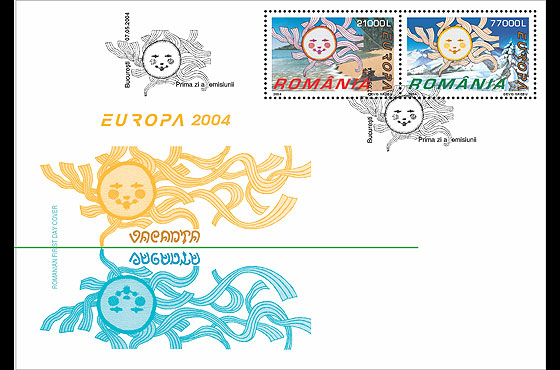 Europa 2004 - Holidays First Day Cover