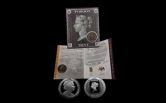 175th Anniversary Penny Black Crown Gift Pack - 2015