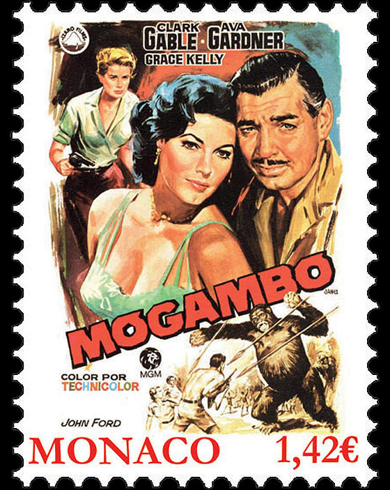 Grace Kelly Movies - Mogambo Set