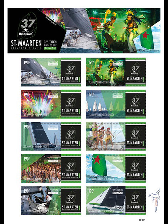 37th St. Maarten Heineken Regatta Sheetlets