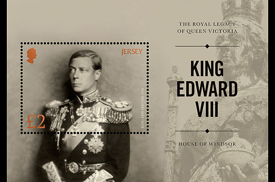The Royal Legacy of Queen Victoria – King Edward VIII Miniature Sheet