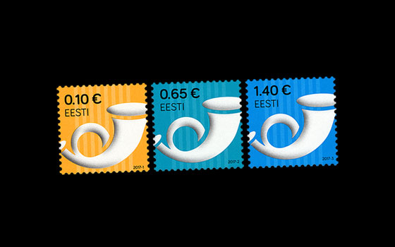 Definitive Stamps – Post Horn 2017
