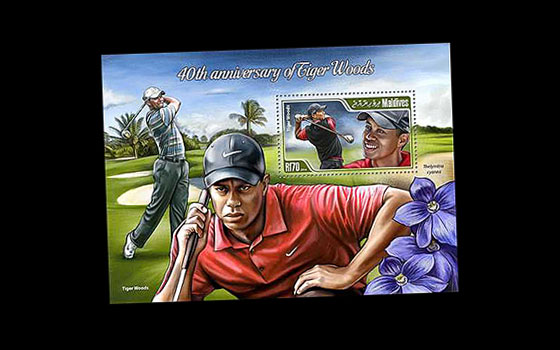 40th Anniversary of Tiger Woods SI