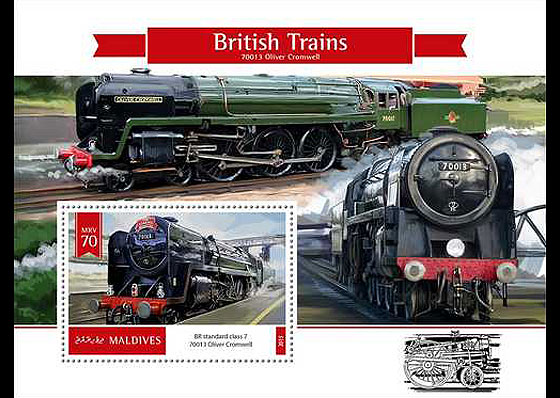 British Trains Miniature Sheet
