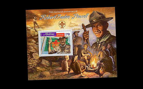 75th memorial anniversary of Robert Baden-Powell SI