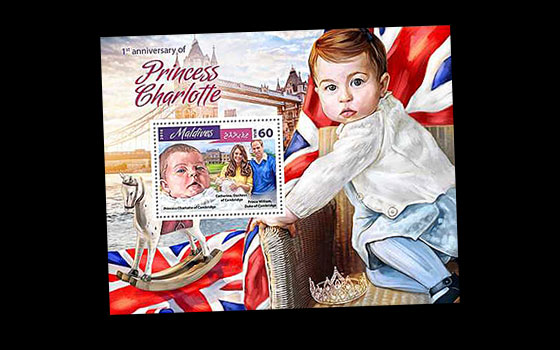 1st Anniversary of Princess Charlotte SI