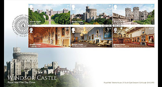 Windsor Castle 2017- (FDC Set) First Day Cover