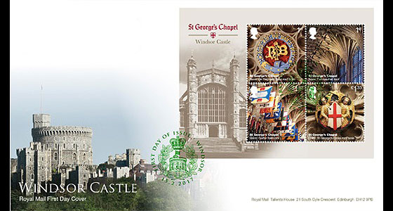 Windsor Castle 2017- (FDC M/S) First Day Cover