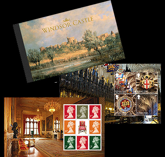 Windsor Castle 2017  Stamp Booklet