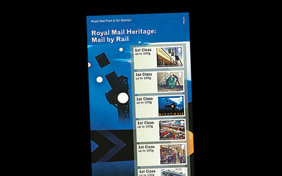 Royal Mail Heritage: Mail by Rail Post & Go SI