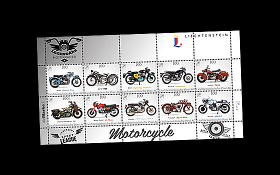 Legendary Motorcycles - Collection sheet dieMarke.li no. 6 SI