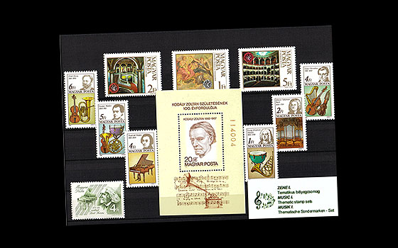 Thematic Stamp Sets- Music I - 20% OFF!