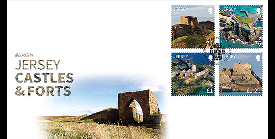 Europa 2017- Castles and Forts- (FDC Set) First Day Cover