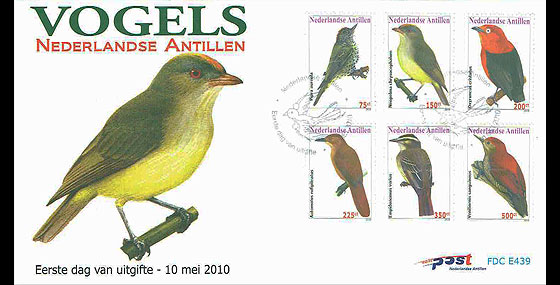 Birds 2010 First Day Cover