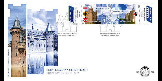 Europa 2017 - Castles First Day Cover