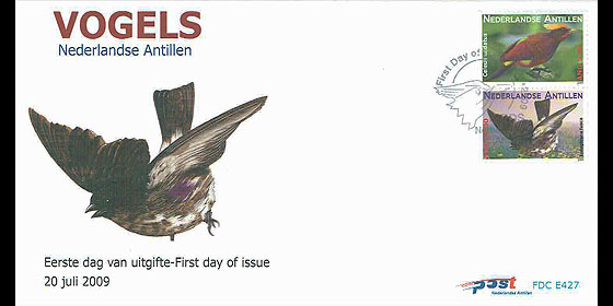 Birds II 2009 First Day Cover