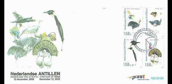 Birds 2008 First Day Cover