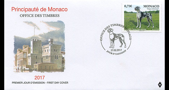International Dog Show First Day Cover