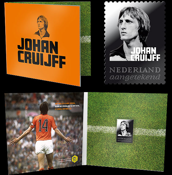 Silver stamp Johan Cruyff Collectibles