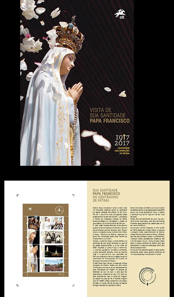 His Holiness Francis at the Celebration of Fátima Special Folder