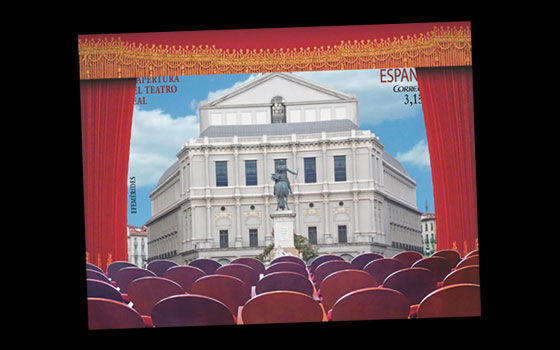 Reopening of the Teatro Real SI
