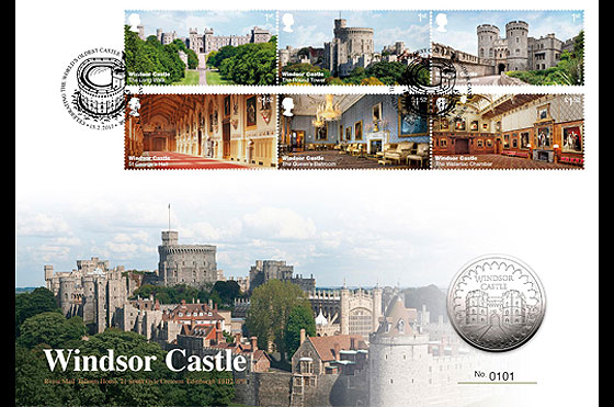 Windsor Castle 2017 Coin Cover