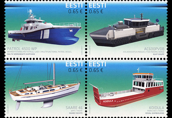 Centenary of the Republic of Estonia- Innovation (Shipbuilding) Set
