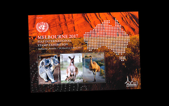 Melbourne 2017 FIAP International Stamp Exhibition SI