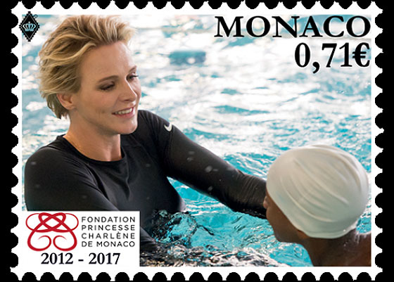 5th Anniversary of the Princess Charlene of Monaco Foundation Set
