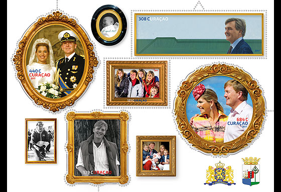King Willem-Alexander 50 Years Miniature Sheet