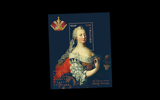 300th Ann of the Birth of Maria Theresa SI