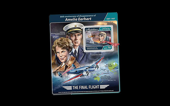 80th anniversary of Amelia Earhart disappearance