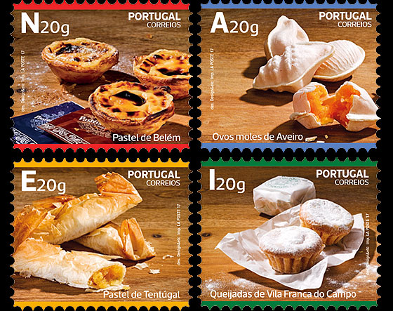 Traditional Desserts of Portugal - Self-Adhesive Set