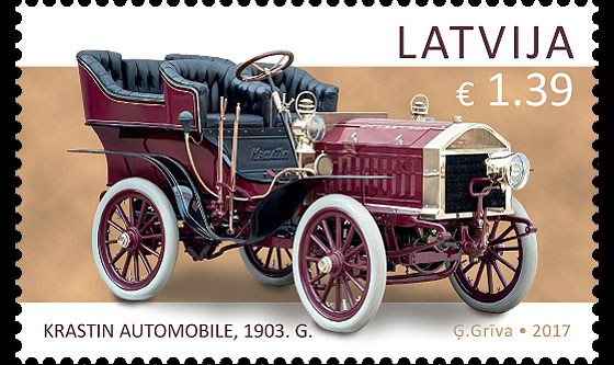 Latvian Motor Museum - History of Automobiles Set
