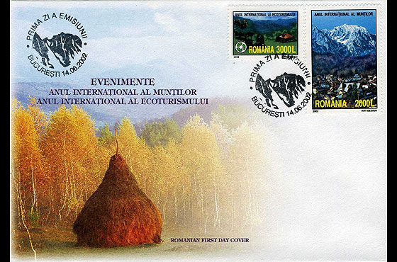 Events – International Year of the Mountains and International Year of Ecotourism First Day Cover