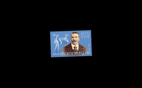 Gustav Boesberg 150 Years - Founder of Estonian Heavy Athletics SI