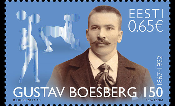Gustav Boesberg 150 Years - Founder of Estonian Heavy Athletics Set