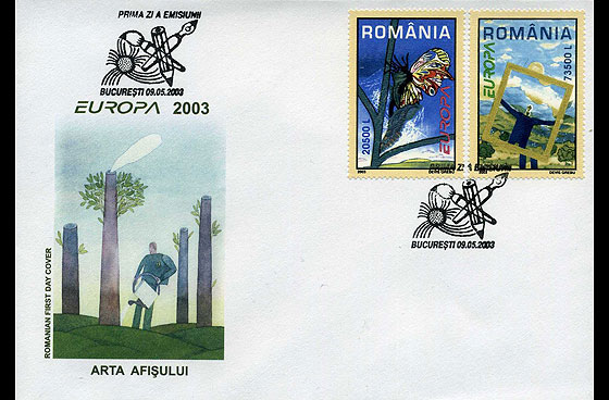 Europa 2003 First Day Cover