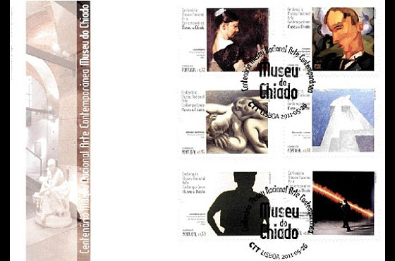 Museum of Chiado First Day Cover